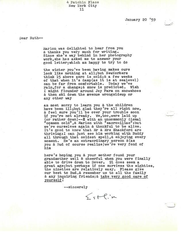 Shackford letter