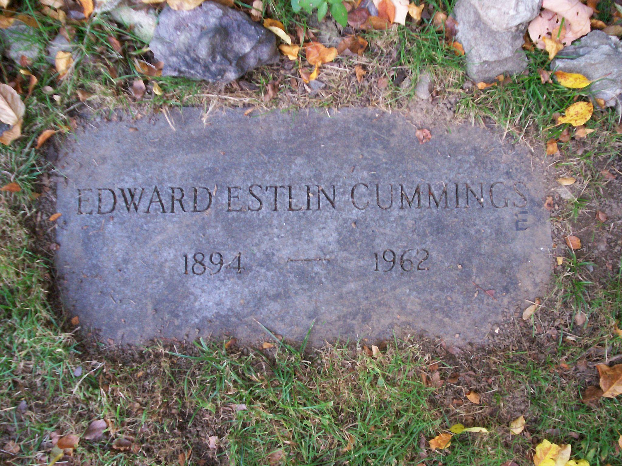 Резултат с изображение за Edward Estlin Cummings