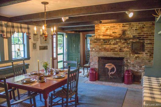 Dining room at Joy Farm